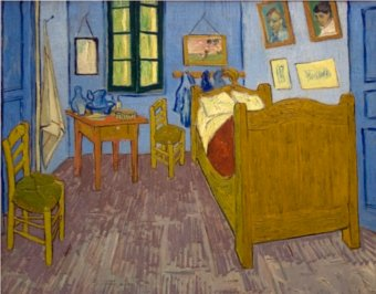 van gogh in arles bedroom