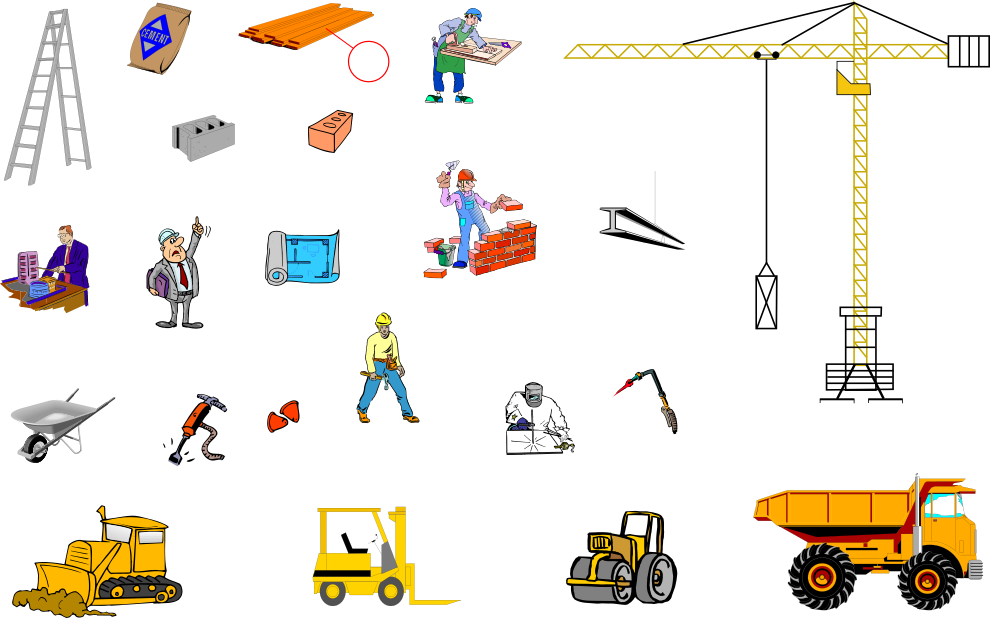 Construction english vocabulary for Construction vocabulary