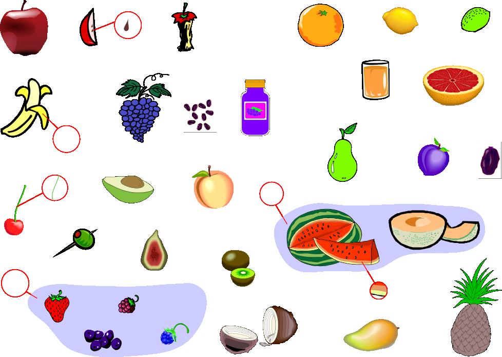 Fabulous blog anglais pour élèves resto cuisine » names of fruits with  EO15