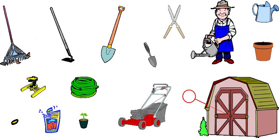 The garden the yard english vocabulary languageguide org