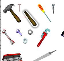 Bolt And Washer >> die Werkzeuge - Englisch Vokabeln - LanguageGuide.org