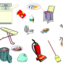The Utility Room - English Vocabulary - LanguageGuide.org